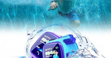 Водонепроницаемые детские часы с GPS