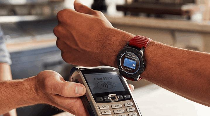 Samsung Pay на смарт часах и фитнес браслетах